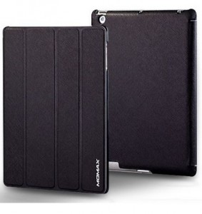 Momax Feel & Touch case for iPad black-1-1