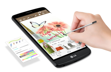 lg-mobile-G3 Stylus-feature-quick memo-image